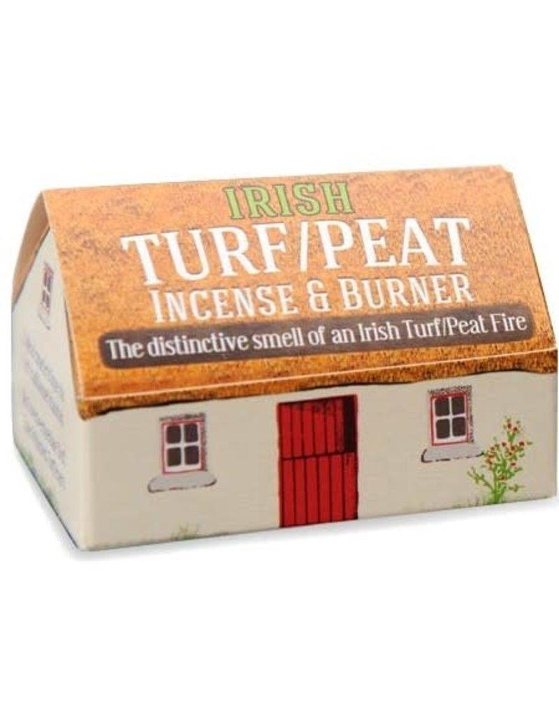 The Turf Peat Incense Co. Irish Peat Incense and Burner Set