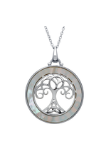 Anu Tree of Life + Mother of Pearl Necklace