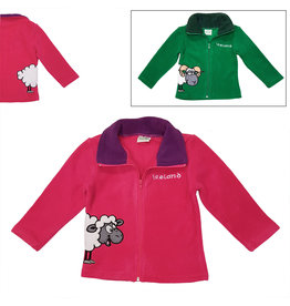 Irish Farmyard Friends Kids Full Zip Fleece