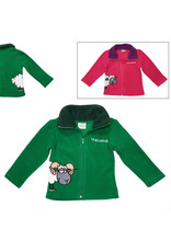 Irish Farmyard Friends Kids Full Zip Fleece