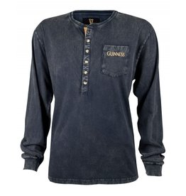 Guinness Guinness Classic Washed Henley Shirt