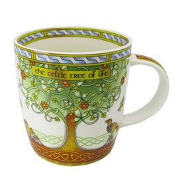 Royal Tara Celtic Tree of Life Mug
