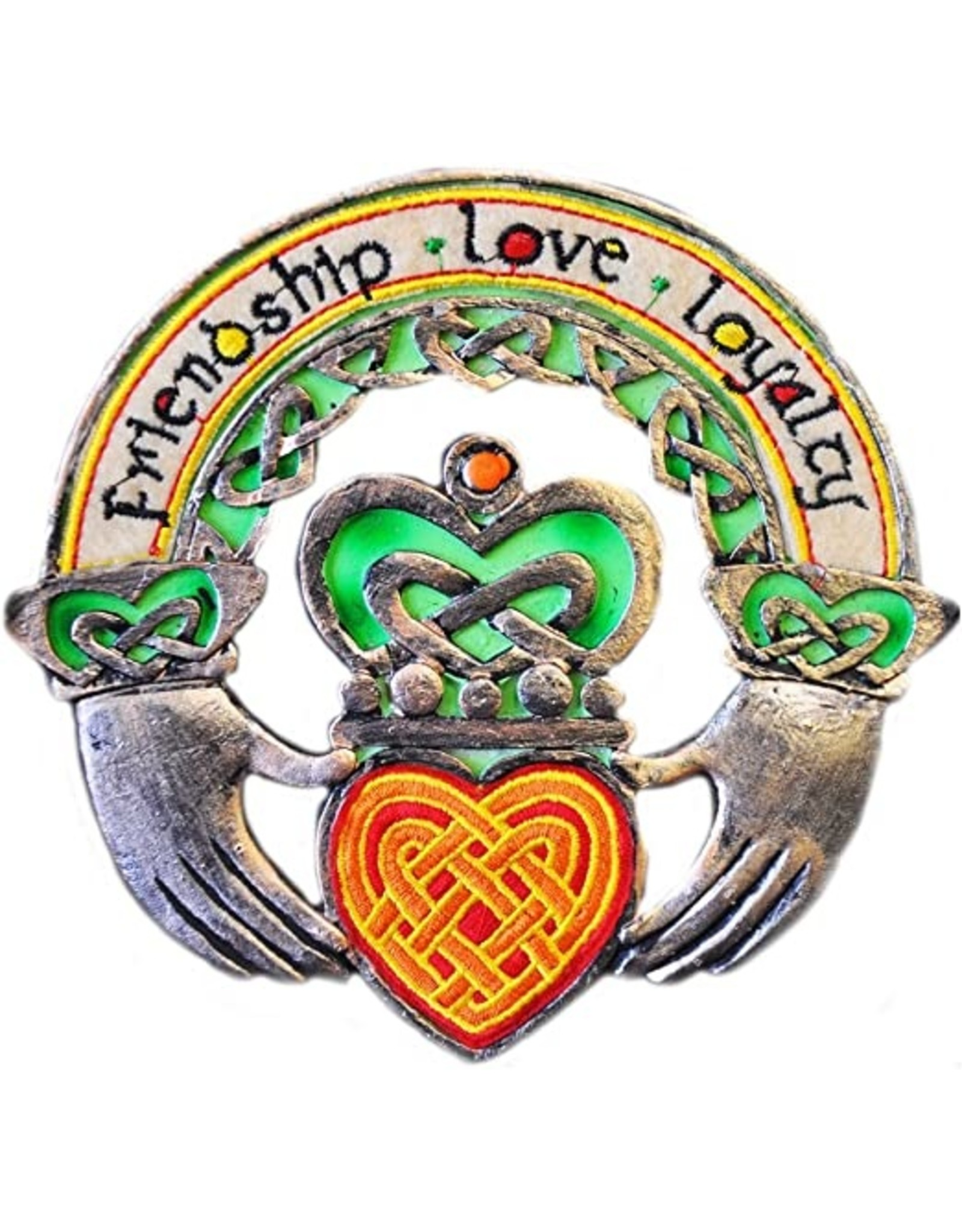 Royal Tara Claddagh Ring Plaque Threads