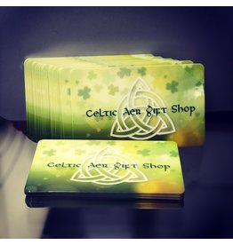 Celtic Aer Gift Card