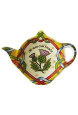 Royal Tara Scottish Thistle Teabag Holder Celtic Window