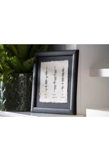 Ogham Wishes Framed Ogham Triple: Home Happiness Laughter