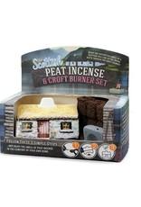 The Turf Peat Incense Co. Scottish Cottage Peat Burner Set