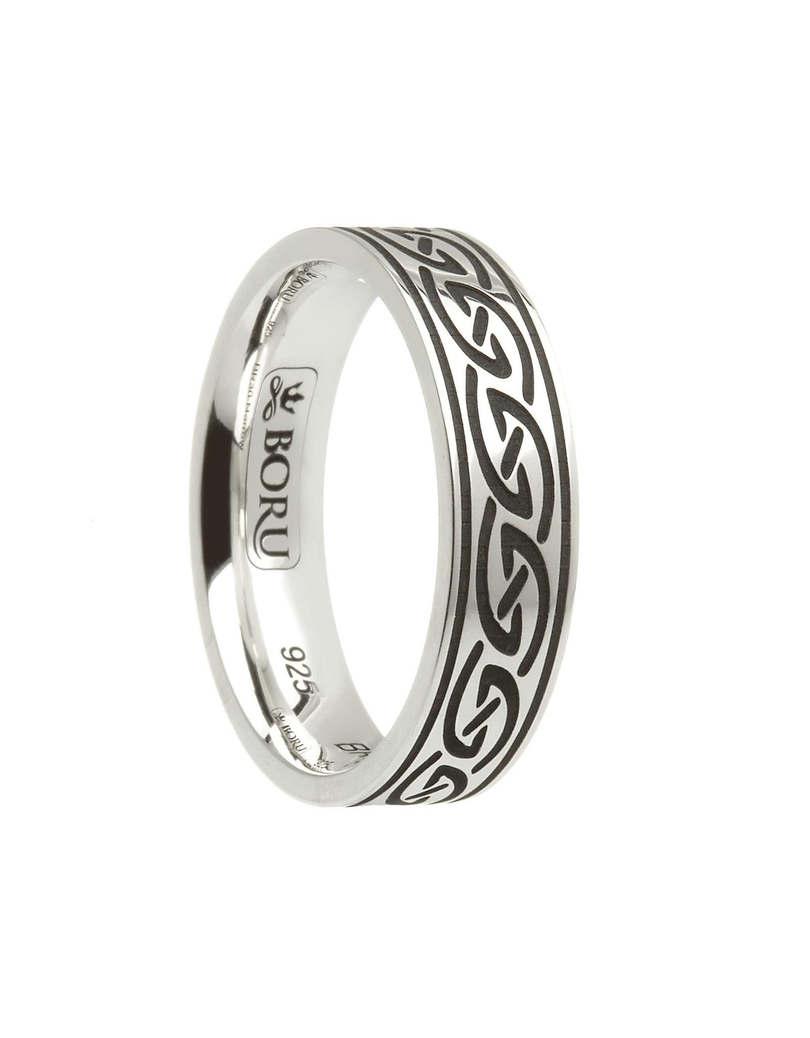 Boru Jewelry Celtic Waves Ring Narrow