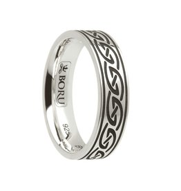 Boru Jewelry Celtic Waves Ring Narrow