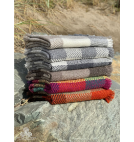 Branigan Weavers Wool Throw Blankets by Branigan Weavers