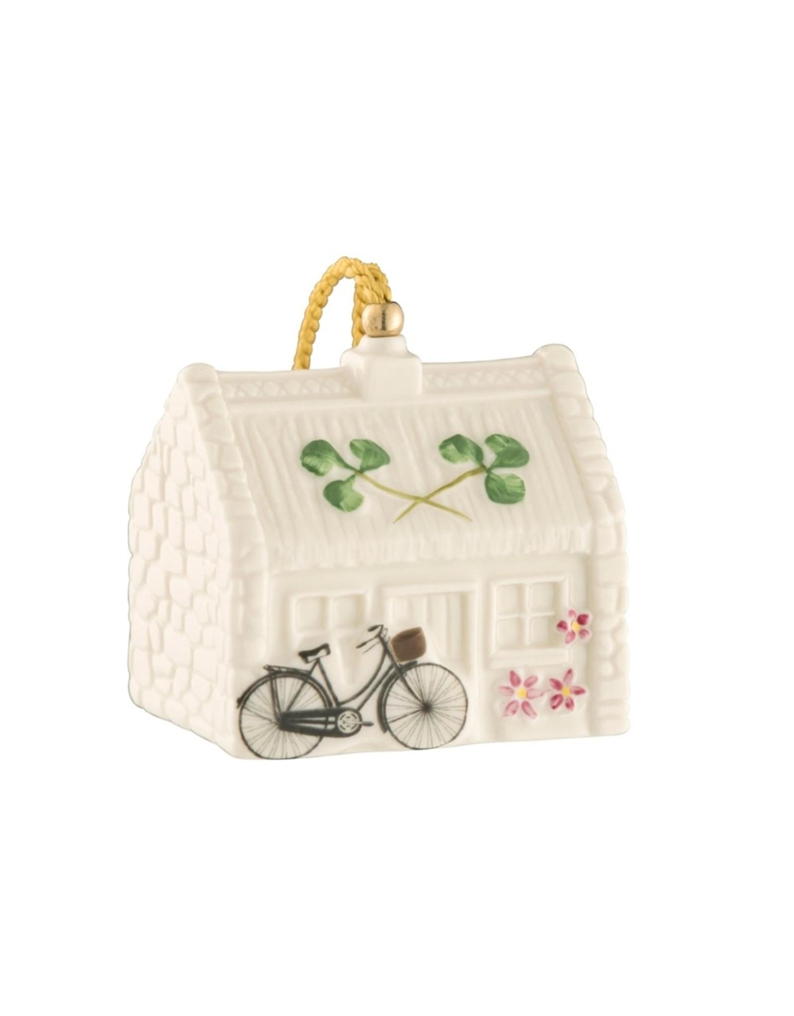 Belleek Nell's Cottage Ornament by Belleek