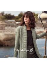 Ireland's Eye Belvoir Textured Collar Cardigan