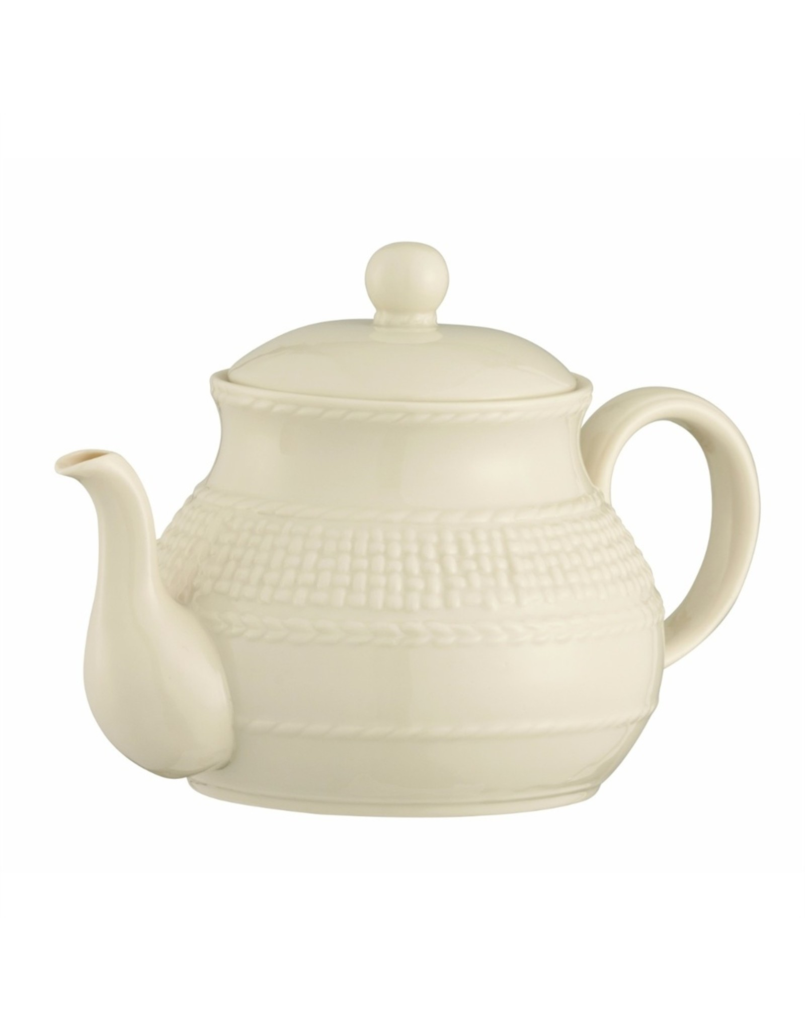Belleek Galway Weave Beverage Pot by Belleek