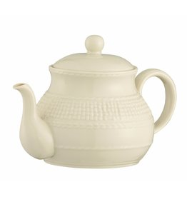 Belleek Galway Weave Beverage Pot