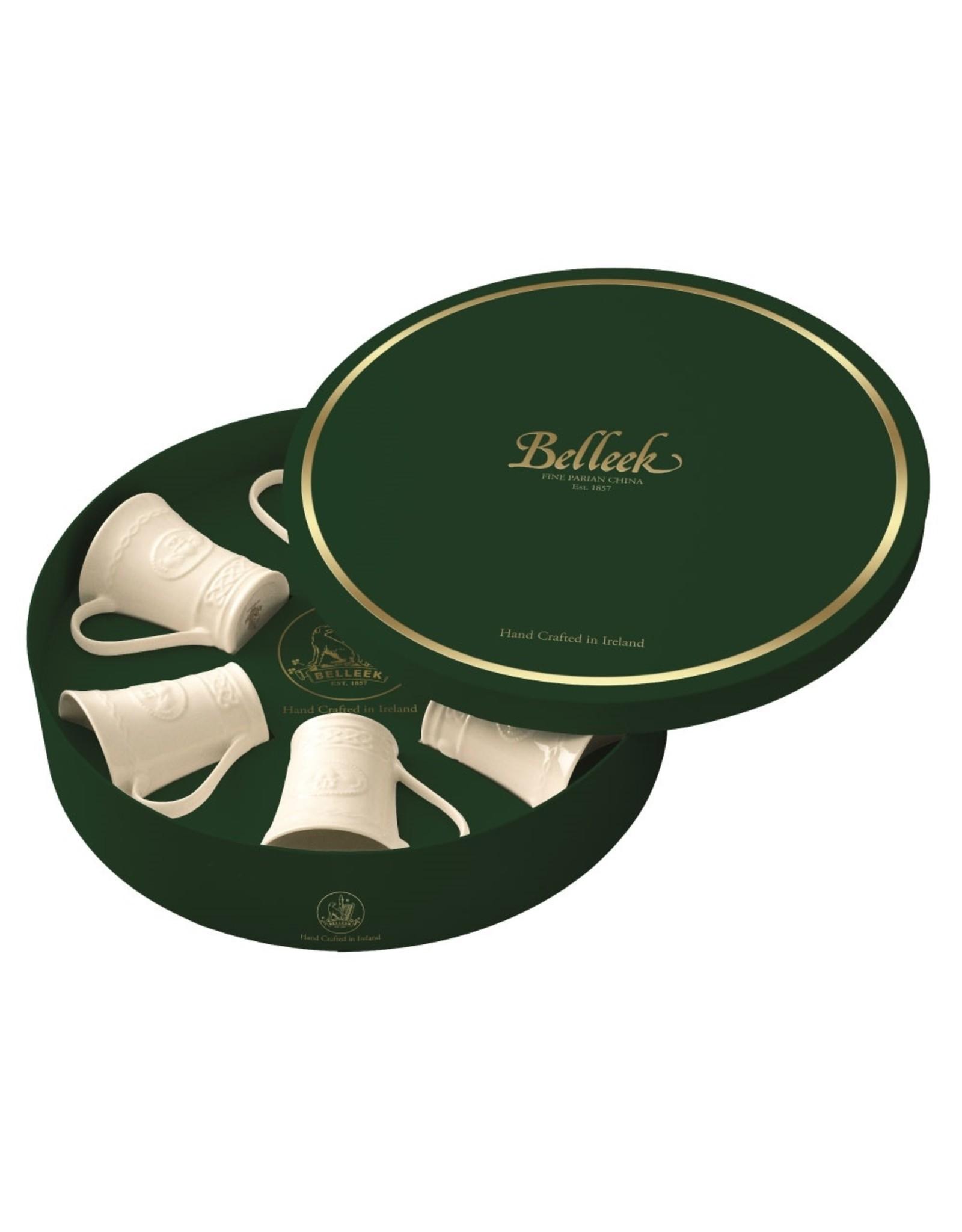 Belleek Claddagh 6 Mug Gift Set by Belleek