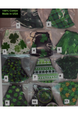 Pichincha Shamrock Face Covers *Assorted Styles*