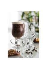 Galway Crystal Galway Crystal Irish Blessing Latte Pair