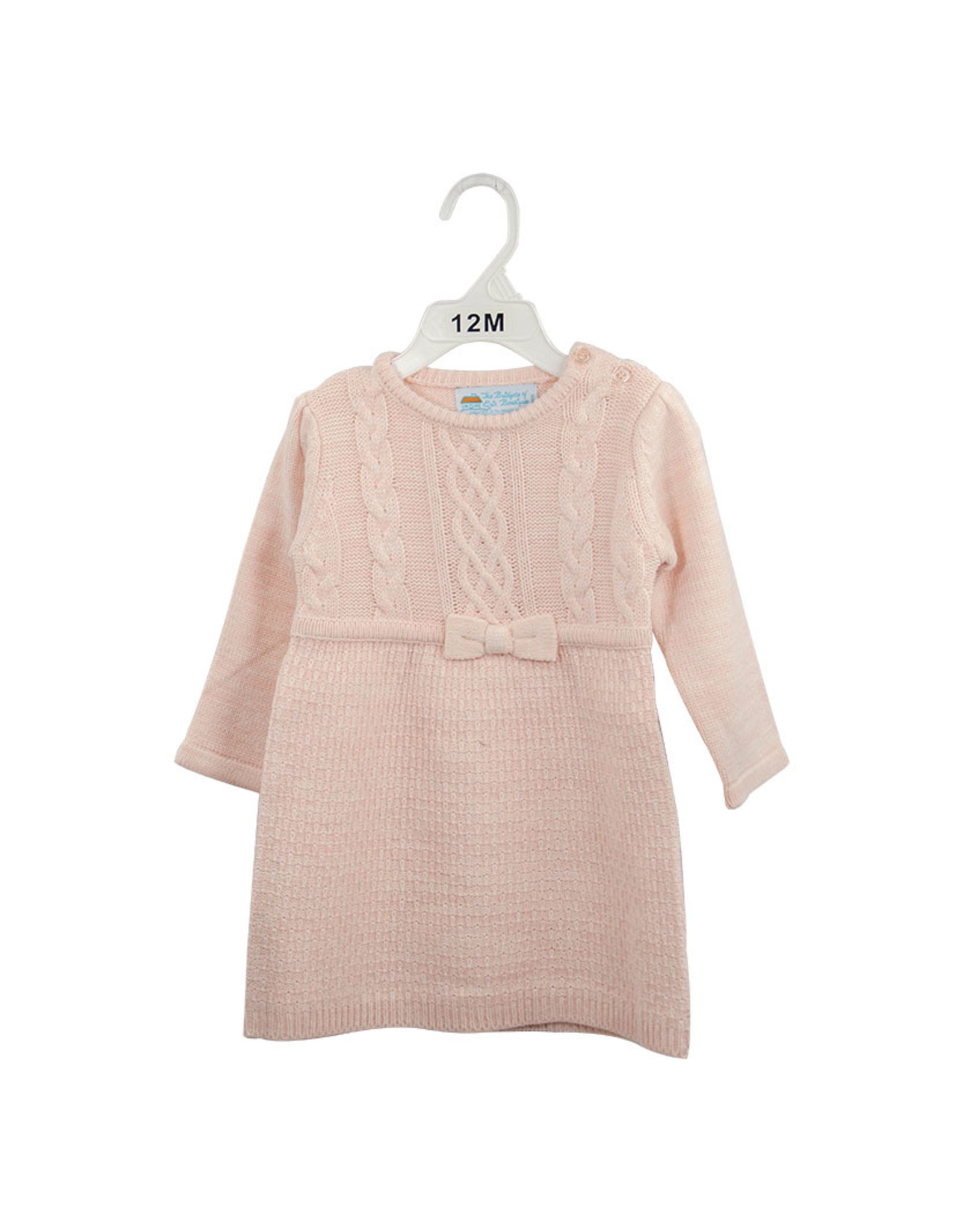 Bridgets of Erin Aran Dress Pretty in Pink 3T