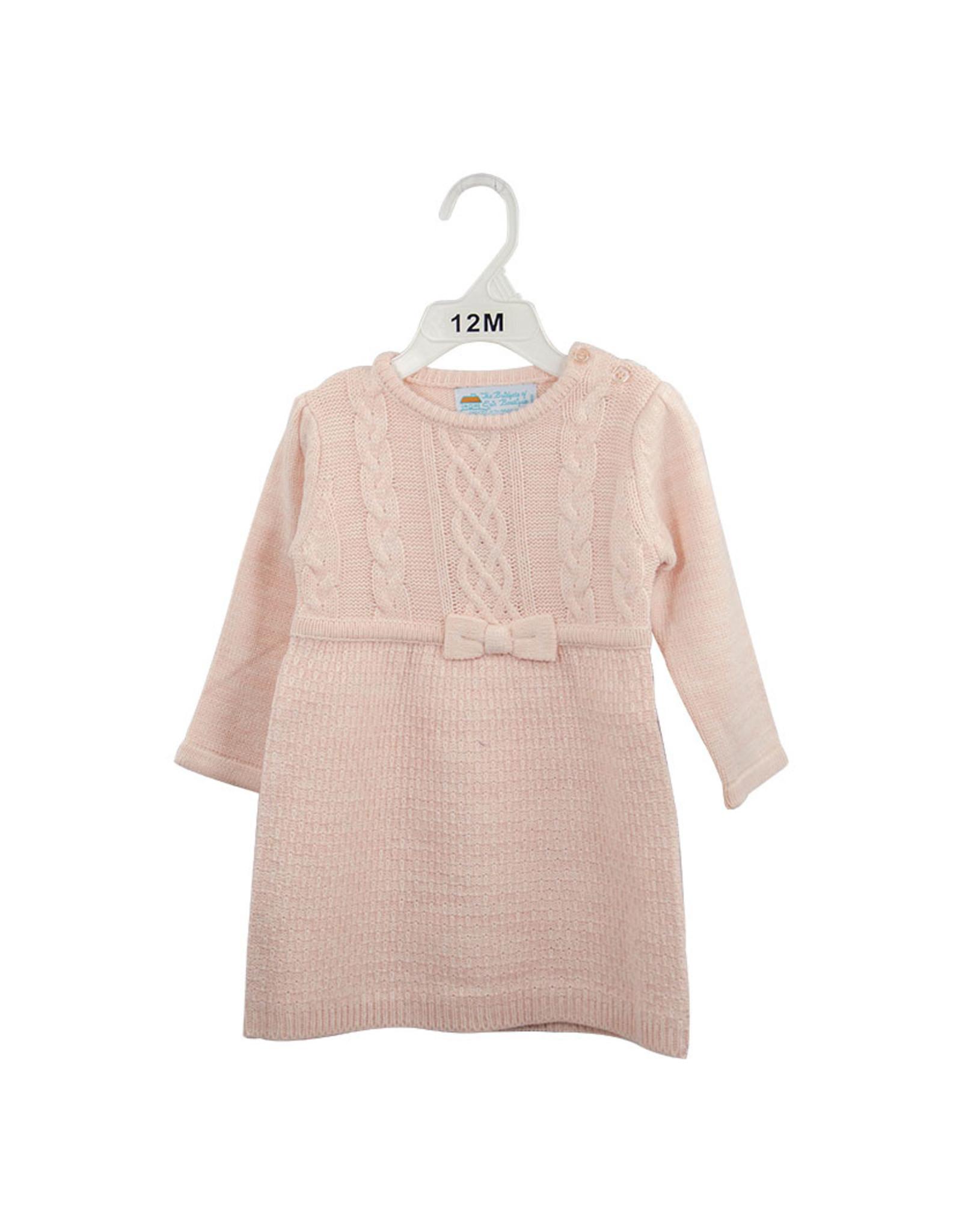 Bridgets of Erin Aran Dress Pretty in Pink 24M