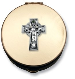 Cathedral Art Trinity Cross Corpus Gold Pyx Box