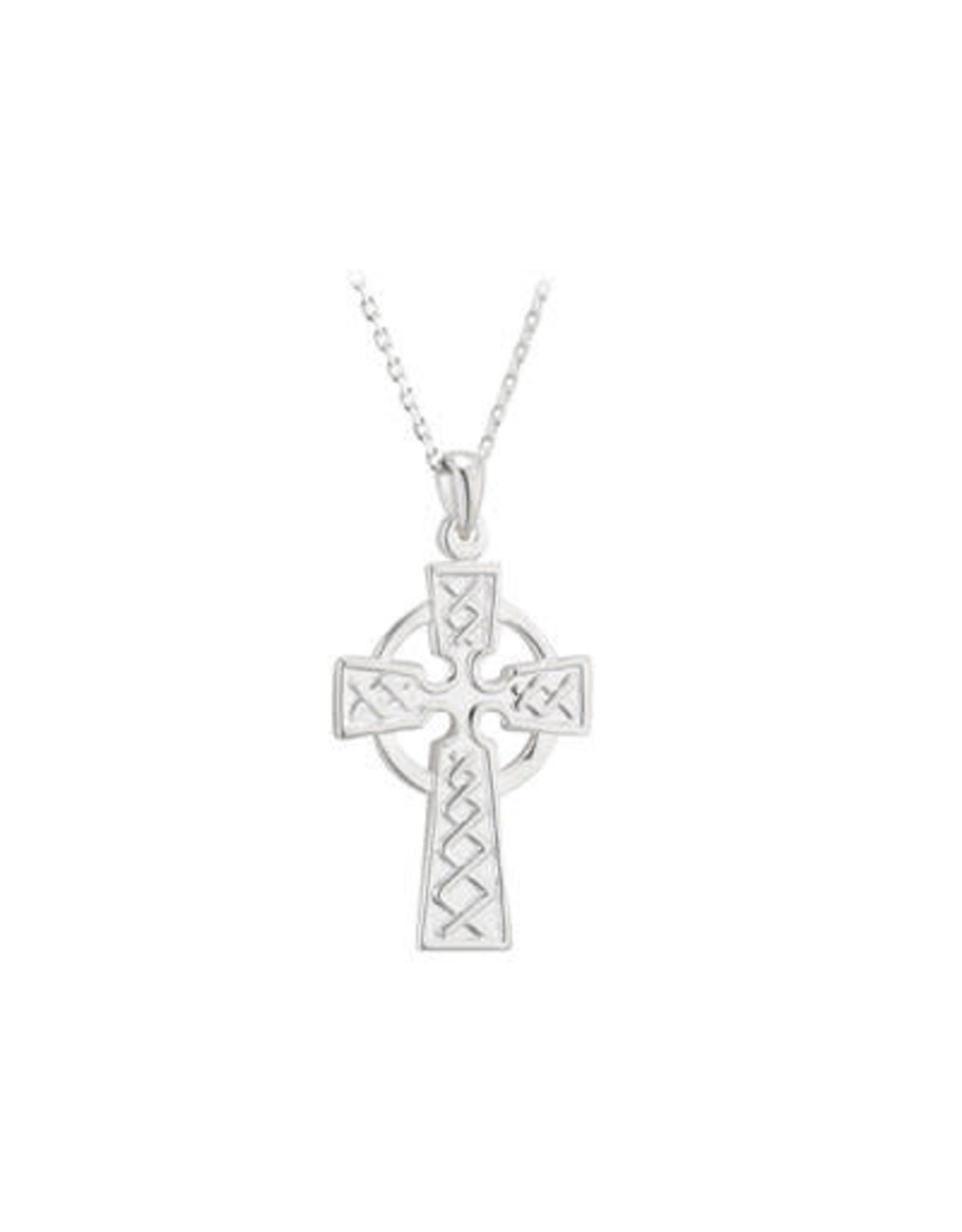 Solvar Sterling Silver 21 mm Celtic Cross by Solvar