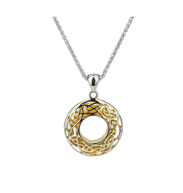 Keith Jack Silver + 22k Window to the Soul Necklace