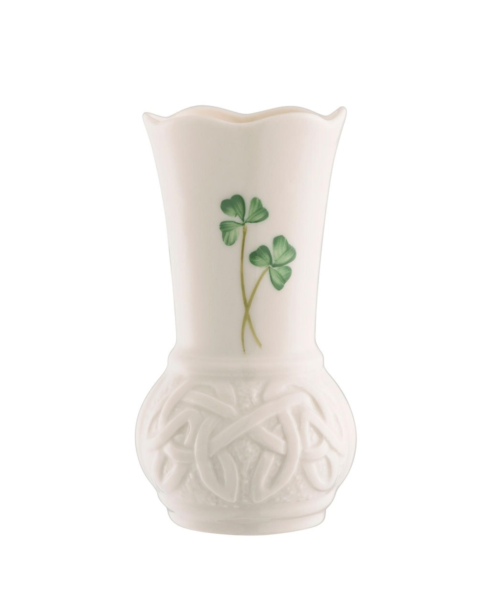 """Belleek Belleek Durrow 4"""" Vase"""