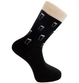 Liffey Artefacts Irish Drinking Socks: Pints All Over