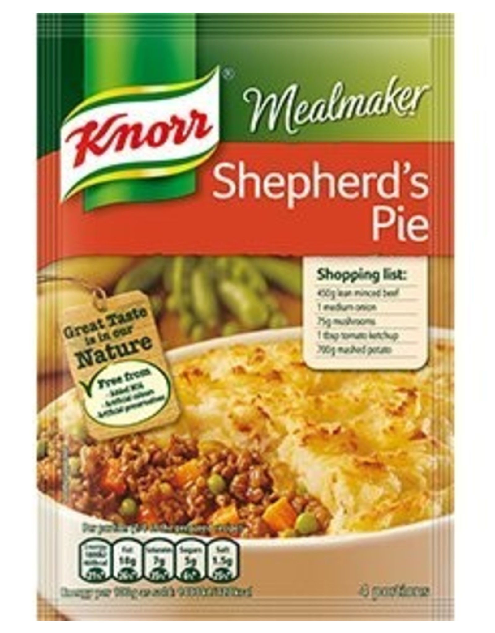 Knorr Knorr Shepherd's Pie 48g Packet