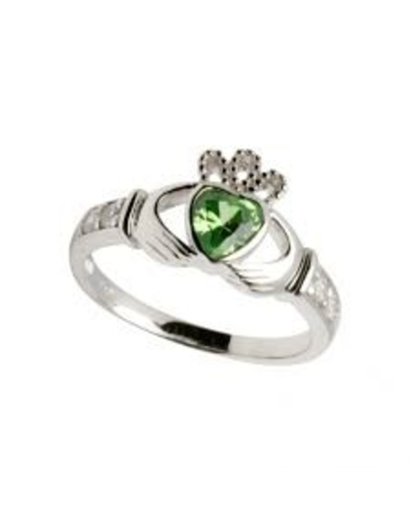 Shanore May Claddagh Birthstone Ring