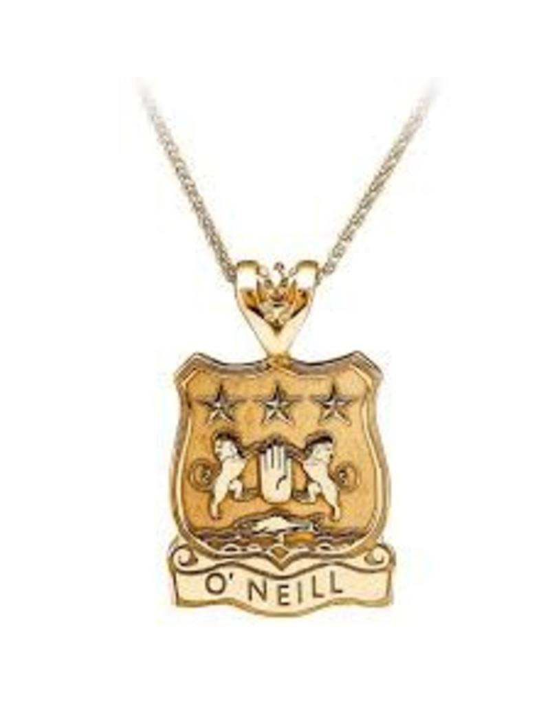 Boru Jewelry Shield with Name Coat of Arms Pendant