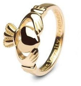 Shanore 10k Gold Gents Claddagh Ring
