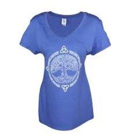 Celtic Attitudes Tree of Life w/ Trinity Knot T-Shirt