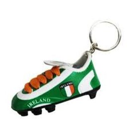 Oracle Trading Ireland Soccer Cleat Keychain
