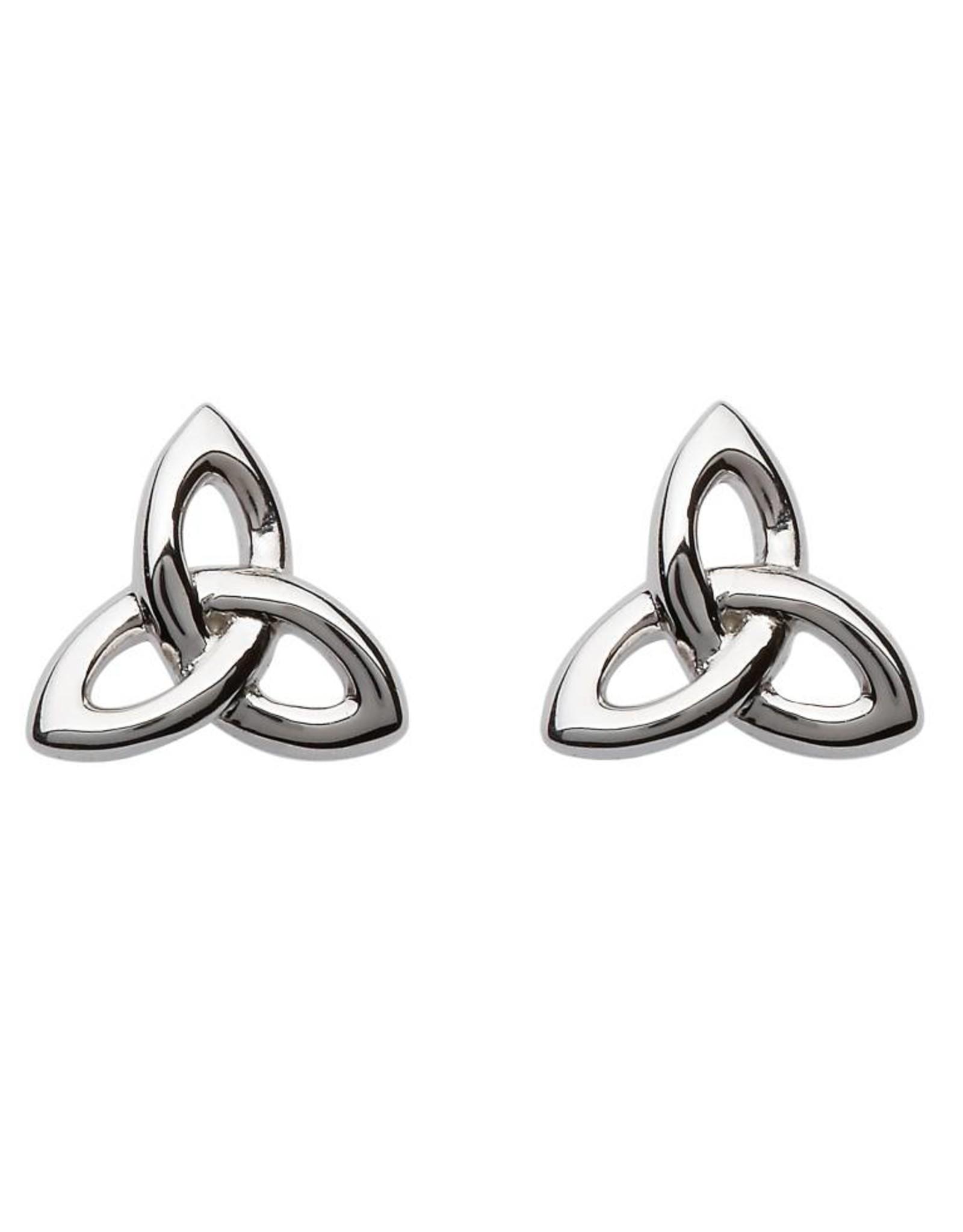 Shanore Trinity Knot Stud Earrings