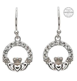 Shanore Claddagh Drop Earrings