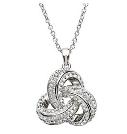 Shanore Sterling Silver Trinity Necklace