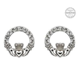 Shanore Claddagh Stud Earrings