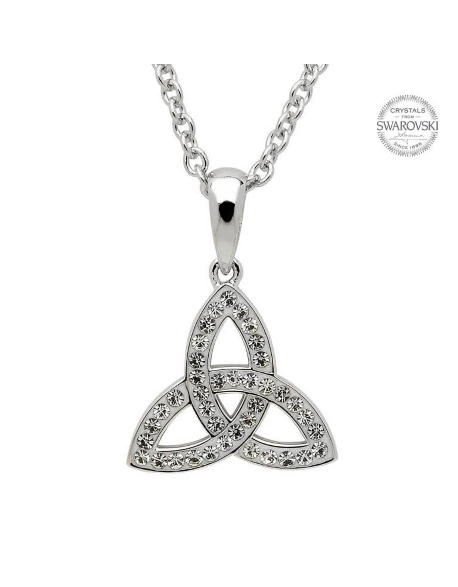 Shanore Celtic Trinity Knot Necklace with Swarovski