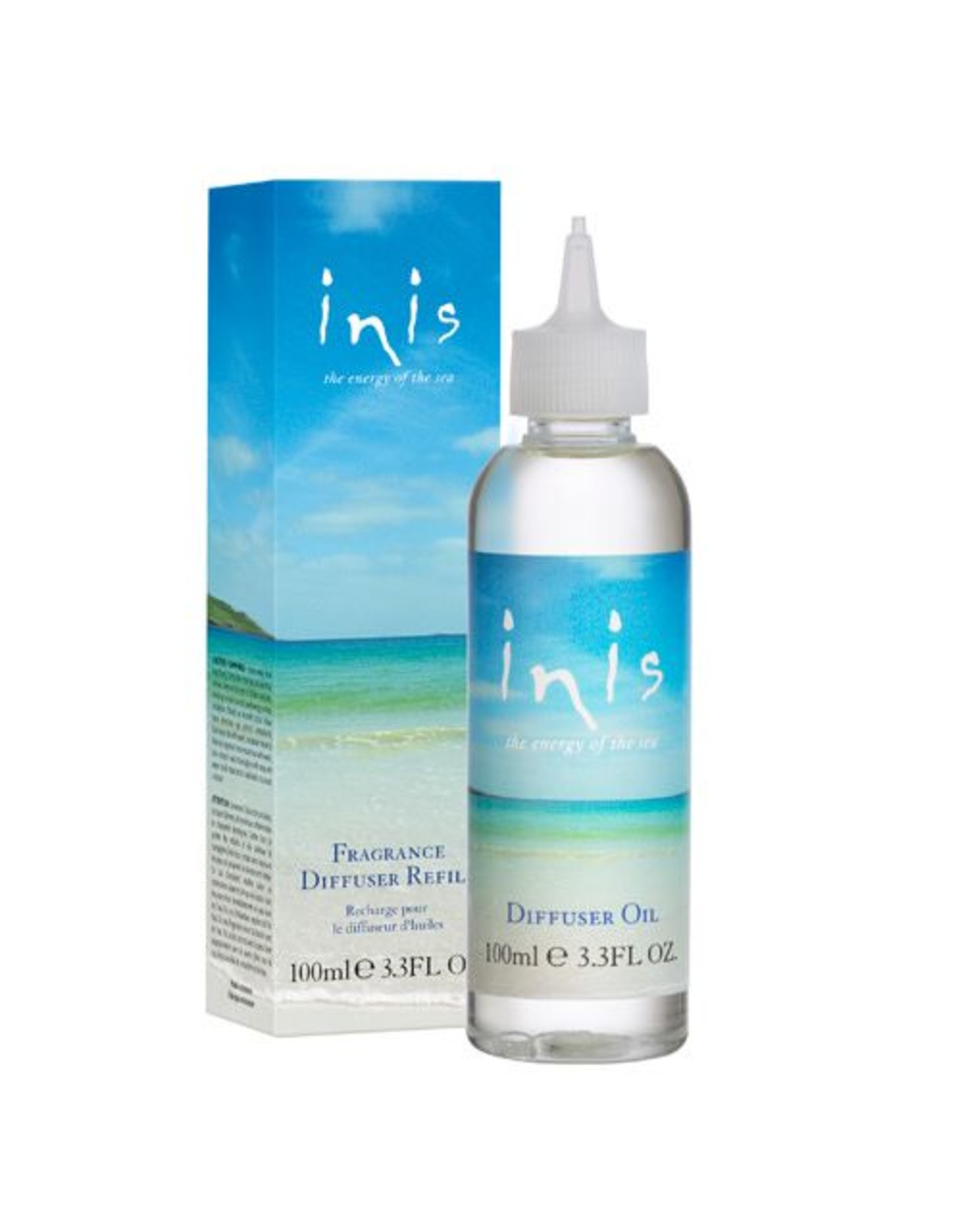 Fragrances of Ireland Ltd. Inis Energy of the Sea Diffuser Refills 100ml / 3.3 fl. oz.