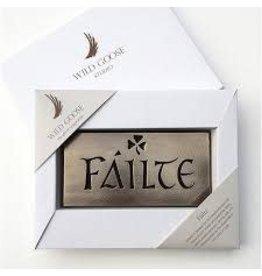 Wild Goose Studios Hand-cast Bronze: Failte
