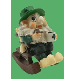 Liffey Artefacts Leprechaun Figureen:  Rocking Chair