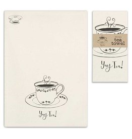 CTW Home Collection 'Yay Tea' Tea Towel