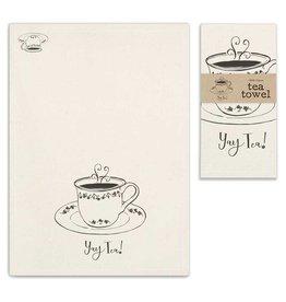 CTW Home Collection 'Yay Tea' Tea Towel