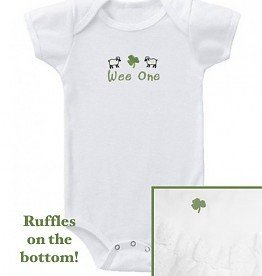 Wee Ones Wee One Ruffle Bum Onesie