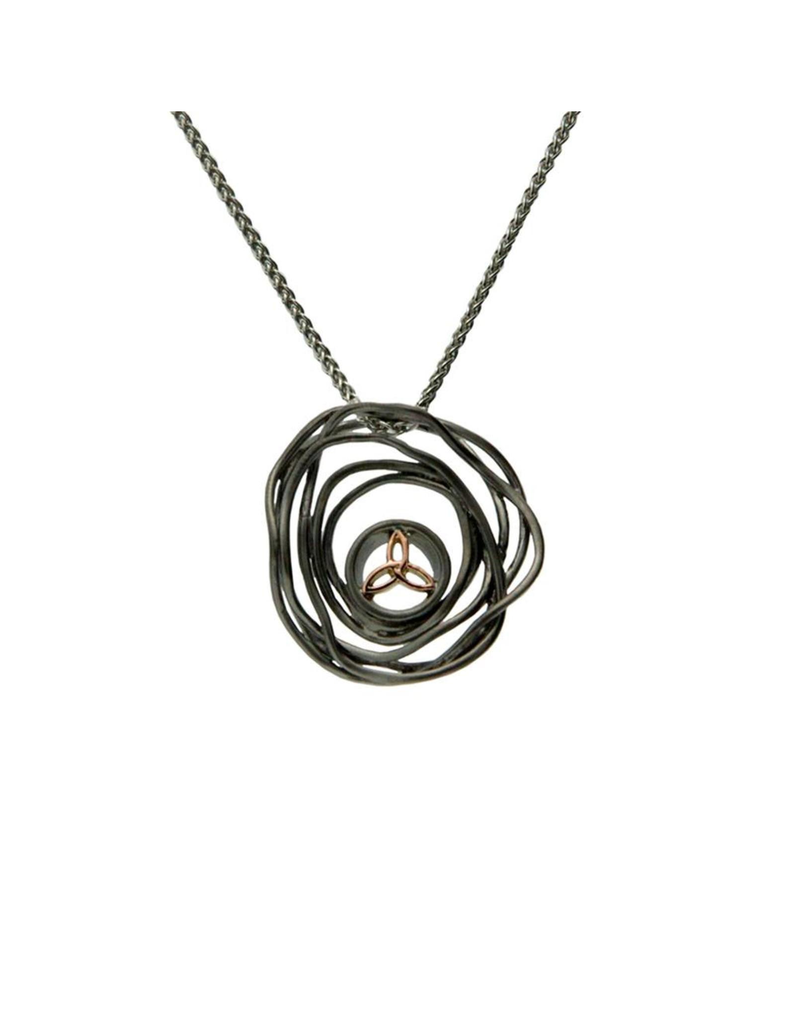 Keith Jack Cradle of Life - Rhuthenium & Rose Gold