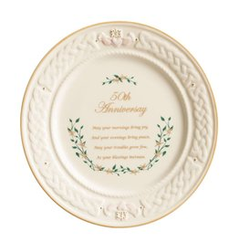 Belleek Belleek 50th Anniversary Plate