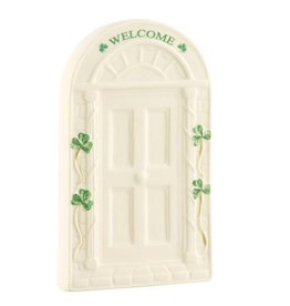 Belleek Belleek Welcome Door Plaque