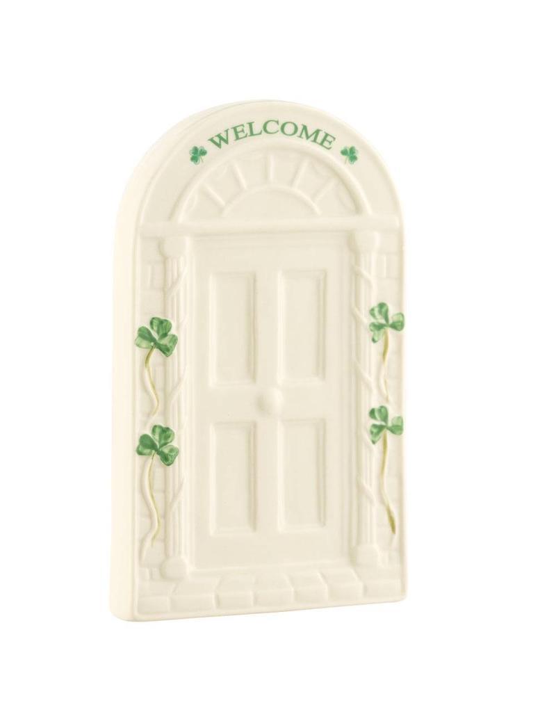 Belleek Belleek Welcome Door Plaque