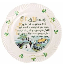 Belleek Belleek Irish Blessing Plate